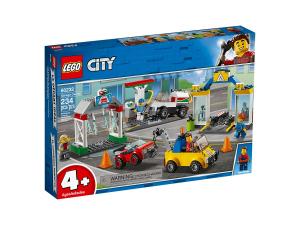 LEGO CITY STAZIONE DI SERVIZIO E OFFICICINA 60232