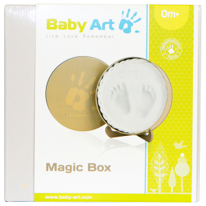Magic box kit per impronte per neonato Baby art