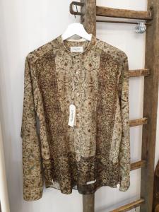 Camicia in puro cotone fantasia Tintoria Mattei 954