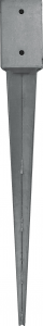 STAFFA A PUNTA  CM 101 X 101 H 750