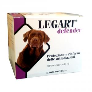 LEGART DEFENDER 240 cpr - condroprotettore per cani
