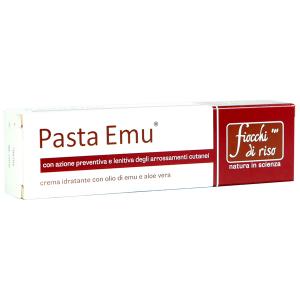 Crema idratante lenitiva per neonati pasta Emu Fiocchi di Riso