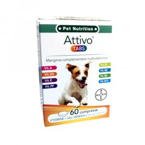ATTIVO TABS 60 tabs - multivitaminico per cani