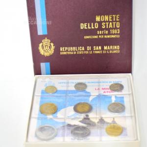 Monete Fior Di Conio Rep.san Marino 1983