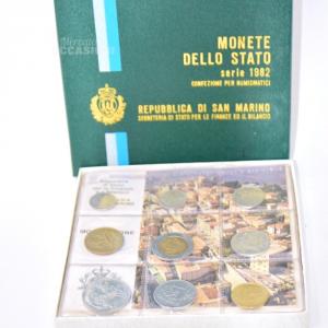 Monete Fior Di Conio Rep. San Marino 1982
