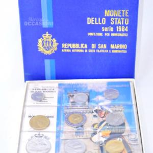 Monete Fior Di Conio Rep. San Marino 1984