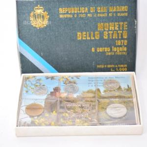 Monete Fior Di Conio Rep.san Marino 1976