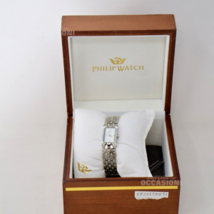 Orologio Philip Watch Con Diamanti Incastonati 8033384003833-0098849