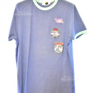 Maglia Uomo Cavalli Underwear Blu