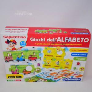Gioco Sapientino Giochi Dell'alfabeto