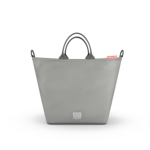 Borsa fasciatoio shopping bag GREENTOM Grigio