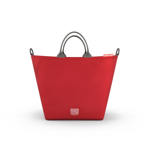 Borsa fasciatoio shopping bag GREENTOM Rosso