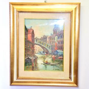 Quadro L. Guida Venezia