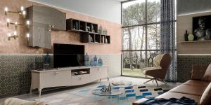 """Composizione soggiorno """"Original wood"""""""