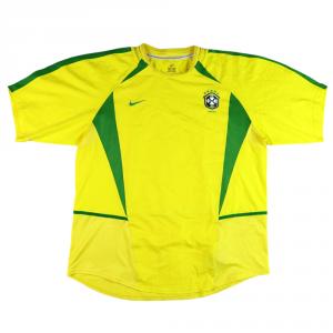 2002-04 Brasile Maglia Home XL (Top)