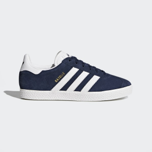 Sneakers Adidas Gazzelle J Navy Blue/white by9144