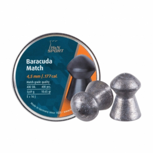 piombini Baracuda Match cal. 4,5mm 400 pcs 0,69g