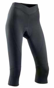 NORTHWAVE Woman cycling knickers CRYSTAL 2 - mid season black