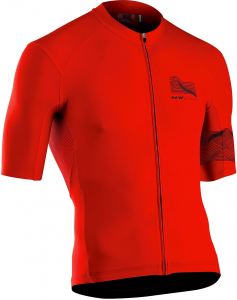 NORTHWAVE Man bike jersey short sleeves EXTREME 3 red