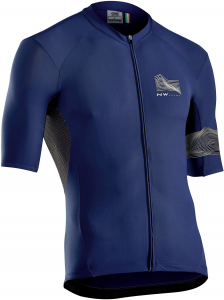NORTHWAVE Male Extreme3 Jersey Short Sleeves Color Blue