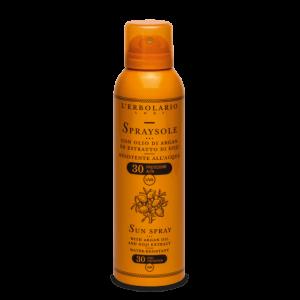 SpraySole olio di Argan ed estr. Goji SPF30 150 ml L' Erbolario