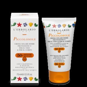 PiccolosoleCr.sol.Bimbi Protezione+ SPF50+ 75 ml