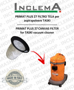PRIMAT PLUS 27 Canvas Filter for vacuum cleaner TASKI