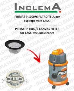 PRIMAT P 1000/6 Canvas Filter for vacuum cleaner TASKI