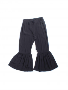 Pantalone nero in viscosa
