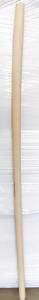Manico badile faggio curvo cm 140