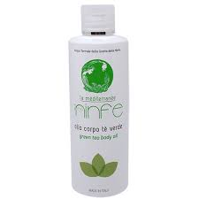 [BODY MASSAGE] OLIO CORPO 100% NATURALE - THE VERDE 200 ml