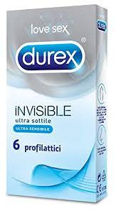 [PRESERVATIVI] DUREX INVISIBLE 6 pz