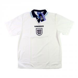 1995-97 Inghilterra Maglia Home L *Cartellino