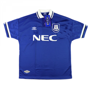 1993-95 Everton Home Shirt XL *Brand new with tags