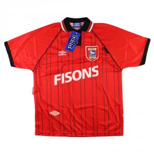 1993-95 Ipswich Maglia Away XL *Cartellino