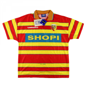 1996-97 Lens maglia Home L *cartellino