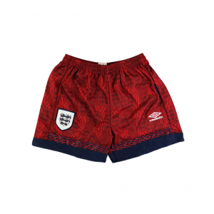1994-95 Inghilterra Pantaloncini Away L *Nuovi