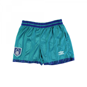 1993-95 Nottingham Forest Pantaloncini Away L *Nuovi