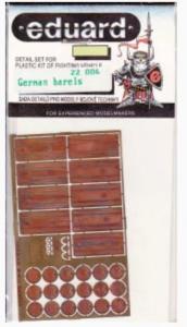 GERMAN WWII BARELS