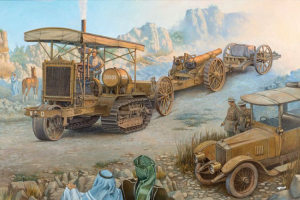 Holt 75 Artillery tracktor w/BL 8-inch Howitzer
