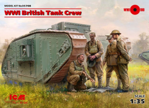 WWI British Tank Crew
