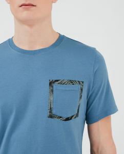 T-shirt uomo WOOLRICH FLOREAL POCKET