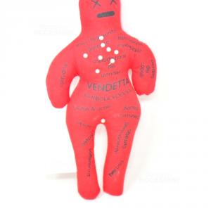 Bambola Wodoo Rossa
