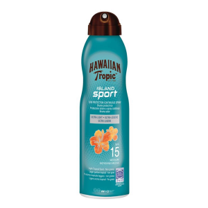 Hawaiian Tropic Island Sport Sun Protection Continuous Spray Ultra Light Spf15 220ml