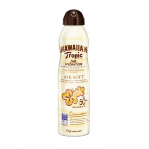 Hawaiian Tropic Silk Hydration Air Soft Sunscreen Mist Spf50+ 177ml
