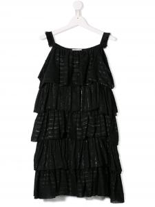Vestito nero in mussola