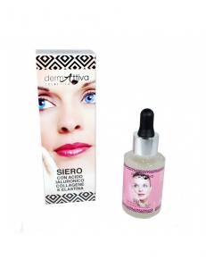 Dermattiva - Siero con Acido Ialuronico, Collagene e Elastina 30 ml