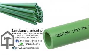 tubo polipropilene a saldare d. 20  barre da 3ml ppr