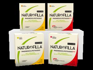 Naturofilla Magnesio e Potassio RED Gusto Arancia con Baobab Formula Amica della Pressione