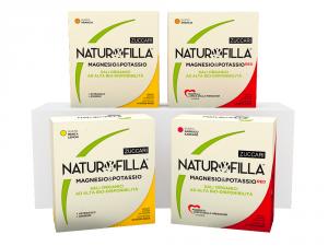 Naturofilla Magnesio e Potassio RED Gusto Sambuco e Karkadè con Baobab Formula Amica della Pressione